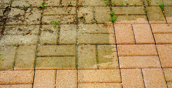Concrete and Brick Cleaning